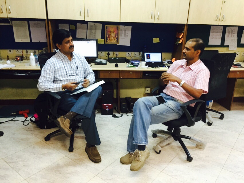 Dean Faculty of Technology- University of Mumbai, Dr. Suresh Ukarande's visit to NanoSniff