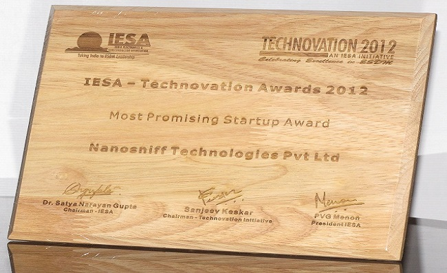 NanoSniff Wins the Prestigious Technovation Award