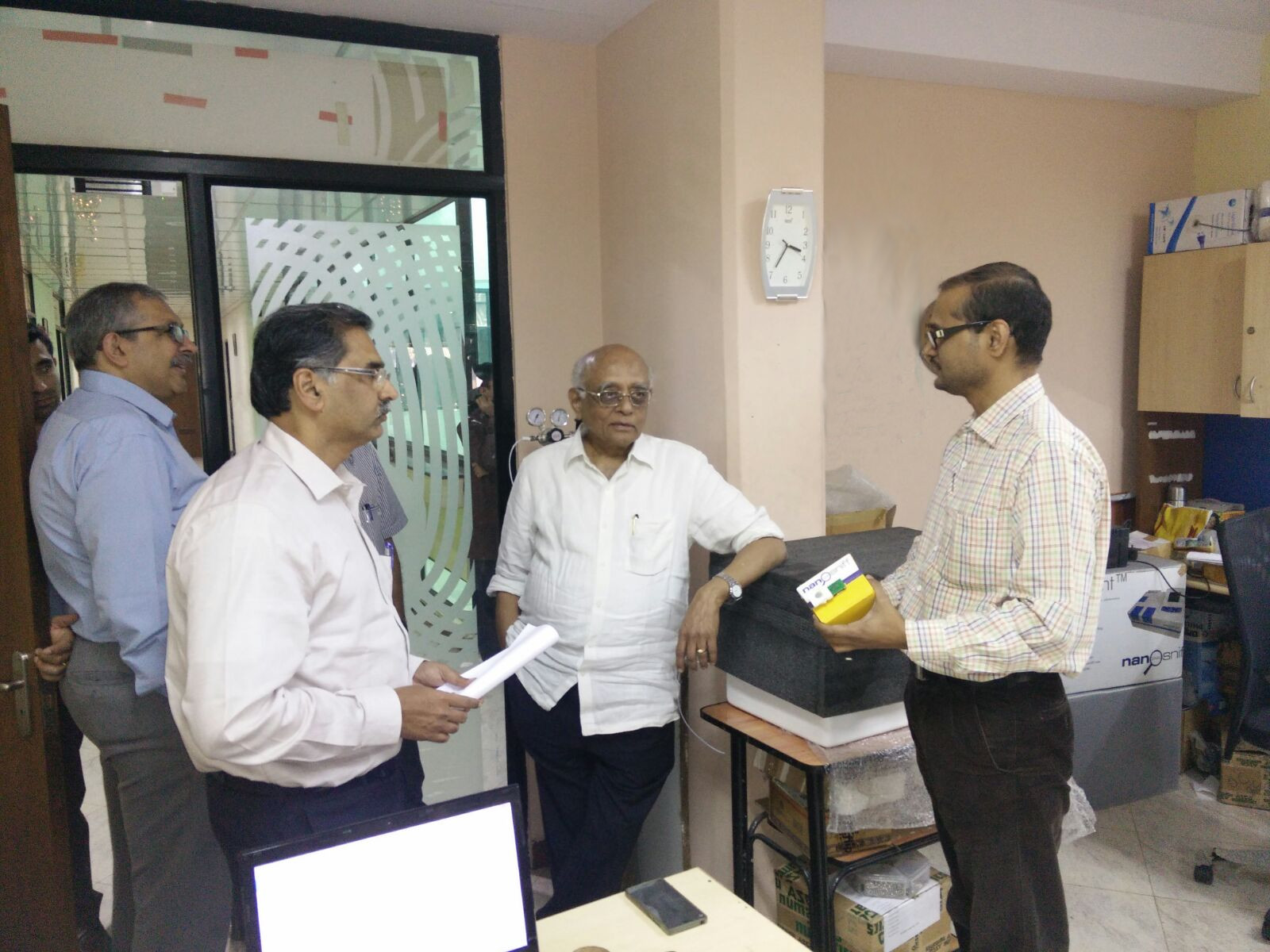 Padma Shri and Padma Vibhushan awardee, Dr. Rajagopala Chidambaram's visit to NanoSniff